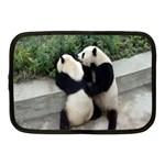 Let Me Kiss You Pandas In Love Netbook Case (Medium)