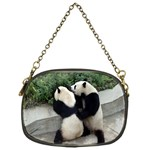 Let Me Kiss You Pandas In Love Chain Purse (One Side)