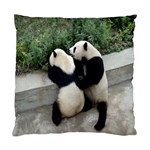 Let Me Kiss You Pandas In Love Cushion Case (Two Sides)