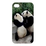 Let Me Kiss You Pandas In Love Apple iPhone 4/4S Hardshell Case