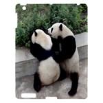 Let Me Kiss You Pandas In Love Apple iPad 3/4 Hardshell Case