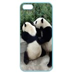 Let Me Kiss You Pandas In Love Apple Seamless iPhone 5 Case (Color)