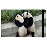 Let Me Kiss You Pandas In Love Apple iPad 2 Flip Case