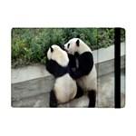 Let Me Kiss You Pandas In Love Apple iPad Mini Flip Case