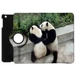 Let Me Kiss You Pandas In Love Apple iPad Mini Flip 360 Case