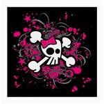 Girly Skull & Crossbones Glasses Cloth (Medium)