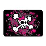 Girly Skull & Crossbones Small Doormat