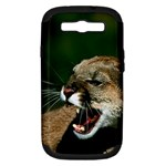 Laught Out Loud  Snarl Cougar Samsung Galaxy S III Hardshell Case (PC+Silicone)