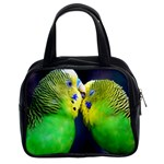 Kiss And Love Lovebird Classic Handbag (Two Sides)