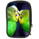 Kiss And Love Lovebird Compact Camera Leather Case