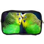 Kiss And Love Lovebird Toiletries Bag (Two Sides)