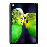 Kiss And Love Lovebird Apple iPad Mini Case (Black)