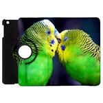 Kiss And Love Lovebird Apple iPad Mini Flip 360 Case