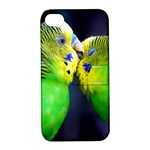 Kiss And Love Lovebird Apple iPhone 4/4S Hardshell Case with Stand