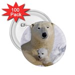 In Moms Arm Mothers Love 2.25  Button (100 pack)