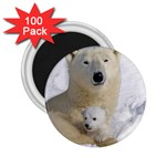 In Moms Arm Mothers Love 2.25  Magnet (100 pack)