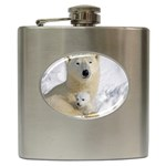 In Moms Arm Mothers Love Hip Flask (6 oz)