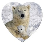 In Moms Arm Mothers Love Jigsaw Puzzle (Heart)