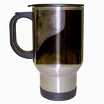 In Moms Arm Mothers Love Travel Mug (Silver Gray)