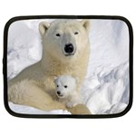 In Moms Arm Mothers Love Netbook Case (Large)