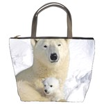 In Moms Arm Mothers Love Bucket Bag