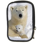 In Moms Arm Mothers Love Compact Camera Leather Case