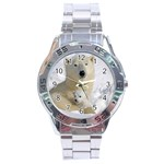 In Moms Arm Mothers Love Stainless Steel Analogue Men's Watch