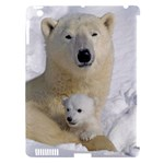 In Moms Arm Mothers Love Apple iPad 3/4 Hardshell Case (Compatible with Smart Cover)