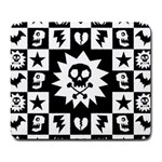 Gothic Punk Skull Large Mousepad