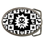 Gothic Punk Skull Belt Buckle