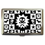 Gothic Punk Skull Cigarette Money Case