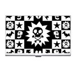 Gothic Punk Skull Business Card Holder