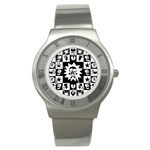 Gothic Punk Skull Stainless Steel Watch