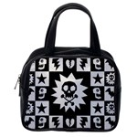 Gothic Punk Skull Classic Handbag (One Side)