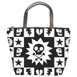 Gothic Punk Skull Bucket Bag