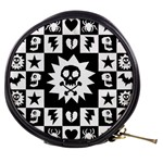 Gothic Punk Skull Mini Makeup Bag