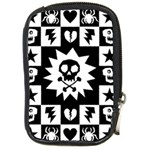 Gothic Punk Skull Compact Camera Leather Case