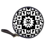 Gothic Punk Skull Classic 20-CD Wallet