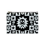 Gothic Punk Skull Cosmetic Bag (Medium)