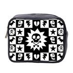 Gothic Punk Skull Mini Toiletries Bag (Two Sides)