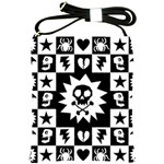 Gothic Punk Skull Shoulder Sling Bag