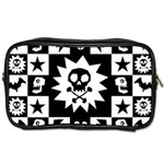 Gothic Punk Skull Toiletries Bag (One Side)