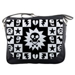 Gothic Punk Skull Messenger Bag