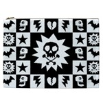 Gothic Punk Skull Cosmetic Bag (XXL)