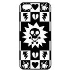 Gothic Punk Skull Apple iPhone 5 Seamless Case (Black)