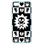 Gothic Punk Skull Apple Seamless iPhone 5 Case (Color)