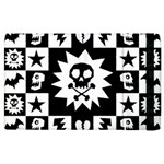 Gothic Punk Skull Apple iPad 2 Flip Case