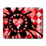 Love Heart Splatter Small Mousepad