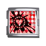 Love Heart Splatter Mega Link Italian Charm (18mm)