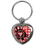 Love Heart Splatter Key Chain (Heart)